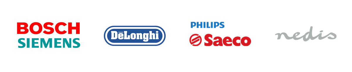 All you need is... DeLonghi, Philips Saeco, Bosch Siemens and Nedis for a good cup of coffee