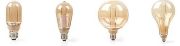All you need is... Nedis LED Retro Filament Bulbs to improve the atmosphere this year