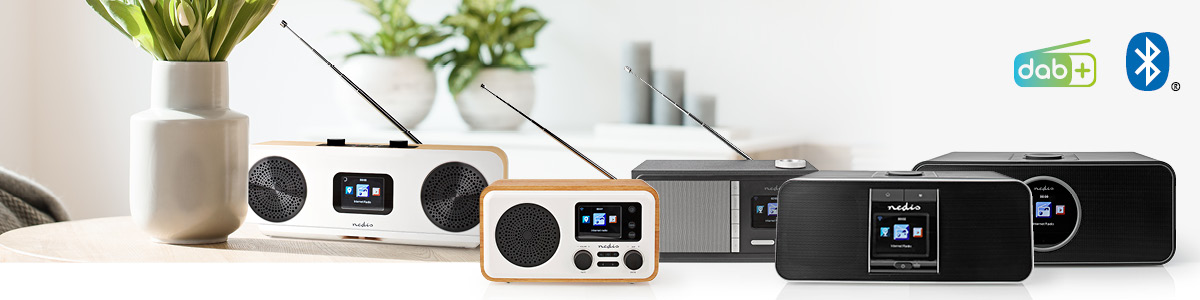 All you need is... internet or DAB+ radios