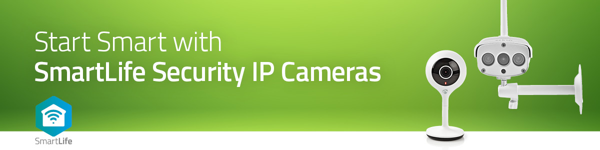 Start Smart Security with Nedis® IP Cameras