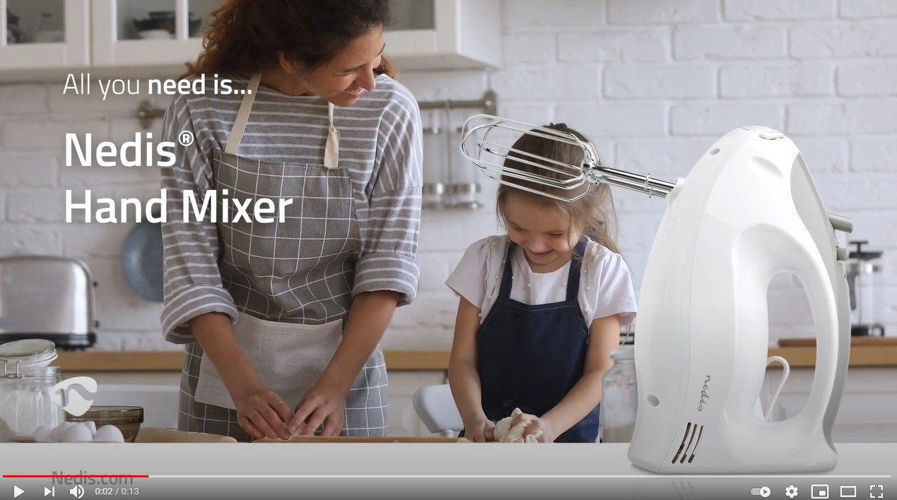 Nedis Hand Mixer USP Video