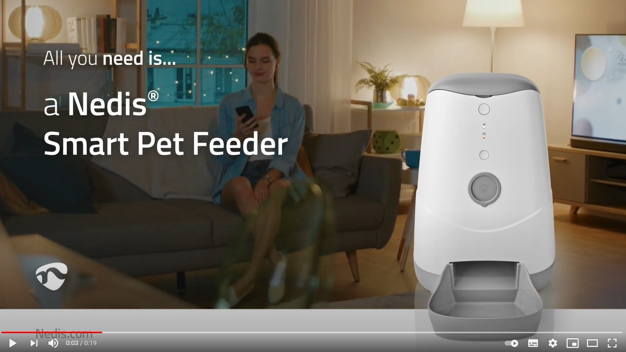 Nedis Smart Pet Feeder
