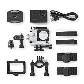 Caméra d'action | 1080p@30fps | 12 MPixel | Étanche jusqu'à: 30.0 m | 90 min | Montures incluses | Noir