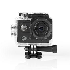 Action Cam | 4K@60fps | 20 MPixel | Impermeabile fino a: 30.0 m | 90 min | Wi-Fi | App disponibile per: Android™ / IOS | Supporti inclusi | Nero