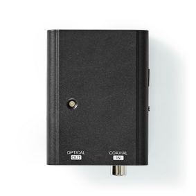 Convertitore audio digitale | Direzione unica | Ingresso collegamento: 1x S / PDIF | Uscita collegamento: Toslink Female | Manuale | Nero