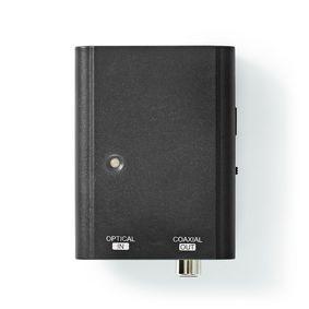 Convertitore audio digitale | Direzione unica | Ingresso collegamento: Toslink Female | Uscita collegamento: 1x S / PDIF | Manuale | Nero