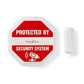 Doorstep Window Alarm   Magnetic Sensor   Battery Powered   2x CR2032   85 dB   White
