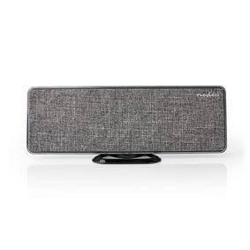 Indoor HDTV Antenna | Active | FM / UHF / VHF | Reception range: 0-25 km | LTE700 | Gain: 28 dB | ABS / Fabric | Grey