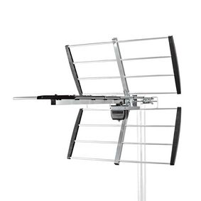 Outdoor Antenna   UHF   Reception range: ≥50 km   LTE700   Gain: 11 dB   75 Ohm   Antenna length: 740 mm   ABS / Aluminium