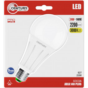 LED-Lampe E27 Glühbirne 24 W 2200 lm 3000 K