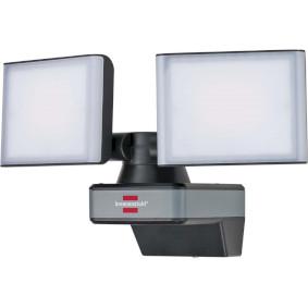 brennenstuhl®Connect WiFi LED Duo Strahler WFD 3050 / LED Außenstrahler 30W per kostenloser App steuerbar (3500lm, diverse Lichtfunktionen über App einstellbar, für die Verwendung im Außenbereich IP54)