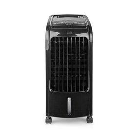 Mobiele Aircooler | Watertankcapaciteit: 3 l | 3 Snelheden | 270 m³/h | Zwenkfunctie | Afstandsbediening | Uitschakeltimer