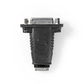 HDMI™ Adapter | HDMI™ Female | DVI-D 24+1-Pin Female | Gold Plated | Straight | ABS | Black | 1 pcs | Box