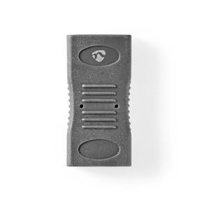 HDMI™ Adapter | HDMI™ Female | HDMI™ Female | Gold Plated | Straight | ABS | Black | 1 pcs | Box