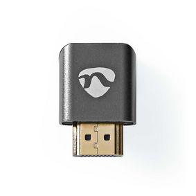 HDMI™ -sovitin | HDMI Uros / HDMI™ liitin | HDMI Naaras / HDMI™ Ulostulo | Kullattu | Kulma, 270 ° | Alumiini | Asemetalli | 1 kpl | Laatikko kannella ja ikkunalla
