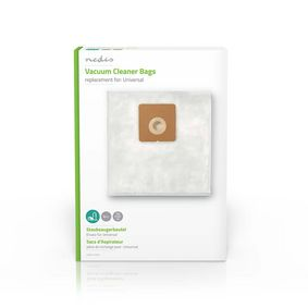 Vacuum Cleaner Bag | 4 pcs | Synthetic | Most sold for: Universal | White