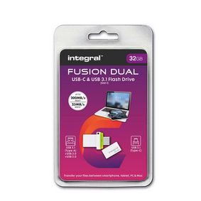 Fusion Dual USB-C & USB3.0 Flash Drive 32GB