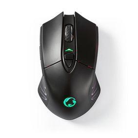Gaming Muis | Wired & Wireless | DPI: 500 / 1000 / 2000 / 3000 / 5000 / 10000 dpi | Ja | Aantal knoppen: 7 | Ja | Rechtshandig | 1.50 m | RGB