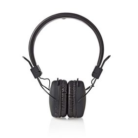 Wireless On-ear Headphones   Battery play time: up to 6 Hours   Built-in microphone   Press Control   Volume control   Black