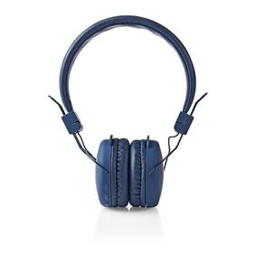 Wireless On-ear Headphones   Battery play time: up to 6 Hours   Built-in microphone   Press Control   Volume control   Blue