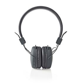 Wireless On-ear Headphones   Battery play time: up to 6 Hours   Built-in microphone   Press Control   Volume control   Grey