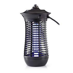 Elektrische Muggenlamp | 18 W | Type lamp: 2G11 18 W PL/BL | Effectief bereik: 150 m² | Zwart