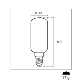 LED Lámpa E14 7W 1100 lm 3000K