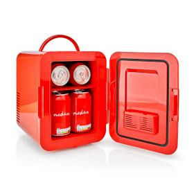Portable Mini Fridge | 4 l | AC 100 - 240 V / 12 V | Rød