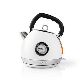 Vedenkeitin | 1.8 l | Soft-Touch | Valkoinen | Lämpötilailmaisin | Pyörivä 360 astetta | Piilotettu lämmityselementti | Strix® ohjain | Tyhjäksi kiehumisen suoja