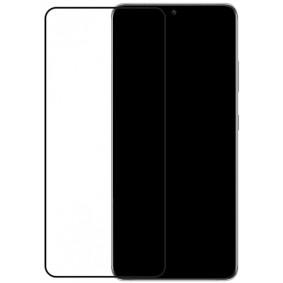 Edge-To-Edge Glass Screen Protector Samsung Galaxy S21 Ultra Black Full/Edge Glue
