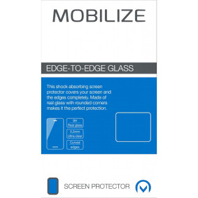Edge-To-Edge Glass Screen Protector Samsung Galaxy S21 Ultra Black Full/Edge Glue