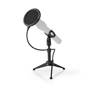 Microfoonstandaard   V-vorm   Hoogte bereik: 194 - 230 mm   Diameter houder: Minder dan 40 mm mm   ABS / Metaal   Zwart