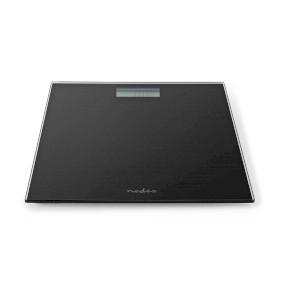 Personenweegschaal | Digitaal | Zwart | Gehard Glas | Maximaal weegvermogen: 150 kg