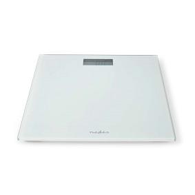 Personenweegschaal | Digitaal | Wit | Gehard Glas | Maximaal weegvermogen: 150 kg