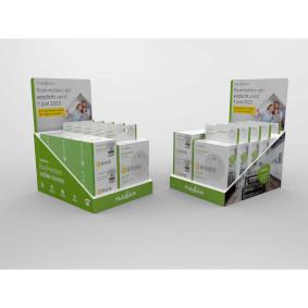 Toonbankdisplay | Geschikt voor: 5x DTCTSL30WT / 6x DTCTSL40WT | Karton | Groen / Wit