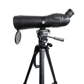 Spotting Scope | Vergrotingsbereik: 20-60 | Diameter objectieflens: 60 mm | Gezichtsveld: 38 m | Dioptrische correctie | Inclusief reistas | Zwart