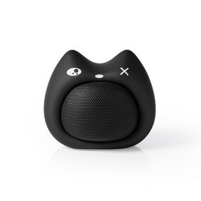 Bluetooth® Speaker | Battery play time: up to 3 Hours | Handheld Design | 9 W | Mono | Built-in microphone | Linkable | Animaticks Kelly Kitten | Black