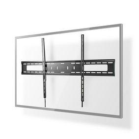 """Feste TV-Wandhalterung   60-100 """"   maximal unterstützes Bildschirmgewicht: 75 kg   Minimaler Wandabstand: 30.5 mm   Metall / Stahl   Schwarz"""