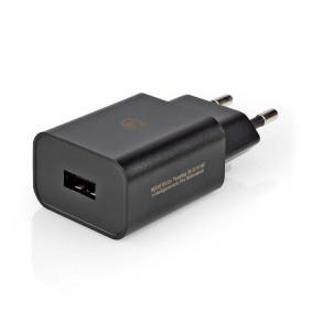 Netzladegerät | 1x 2.4 A | Anzahl der Ausgänge: 1 | Port Type: 1x USB-A | Kein Kabel im Lieferumfang enthalten | 12 W | Einzelspannungsausgang
