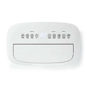 Climatisation | Wi-Fi | 16000 BTU | 140 m³ | Déshumidification | Android™ & iOS | Classe énergétique: A | 3 Vitesses | 65 dB | Blanc