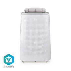Condizionatore | Wi-Fi | 16000 BTU | 140 m³ | Deumidificazione | Android™ & iOS | Classe energetica: A | 3-Velocità | 65 dB | Bianco