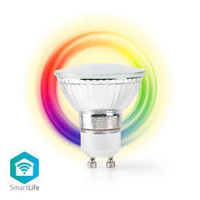 SmartLife Full Colour LED Bulb | Wi-Fi | GU10 | 330 lm | 5 W | RGB / Warm White | 2700 K | Android™ & iOS | PAR16