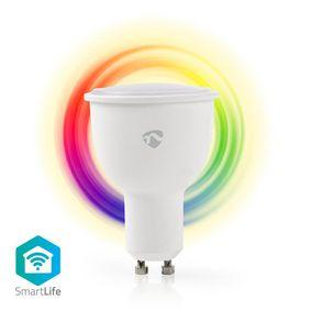 SmartLife Full Colour LED Bulb | Wi-Fi | GU10 | 380 lm | 4.5 W | RGB / Warm White | 2700 K | Android™ / IOS | PAR16