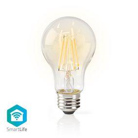 SmartLife LED lyspære | Wi-Fi | E27 | 500 lm | 5 W | Varm Hvit | 2700 K | Glass | Android™ & iOS | A60