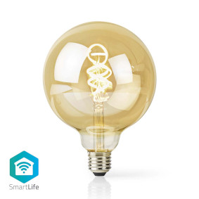 SmartLife LED Filament Bulb   Wi-Fi   E27   350 lm   5.5 W   Cool White / Warm White   1800 - 6500 K   Glass   Android™ / IOS   G125