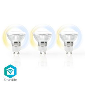 SmartLife LED Bulb | Wi-Fi | GU10 | 400 lm | 5 W | Cool White / Warm White | 2700 - 6500 K | Energy class: A+ | Android™ / IOS | PAR16