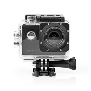 Action Cam | 1080p@30fps | 12 MPixel | Waterproof up to: 30.0 m | 90 min | Mounts included | Black
