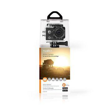 Action Cam | Real 4K Ultra HD | Wi-Fi | Waterproof Case