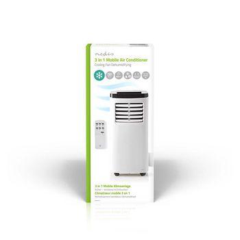 Portabel Luftkonditionering | 7 000 BTU | Energiklass A | Fjärrkontroll | Timerfunktion
