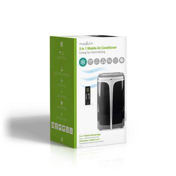 Condizionatore Portatile | 12.000 BTU | Classe Energetica A | Controllo remoto | Funzione Timer | Nero
